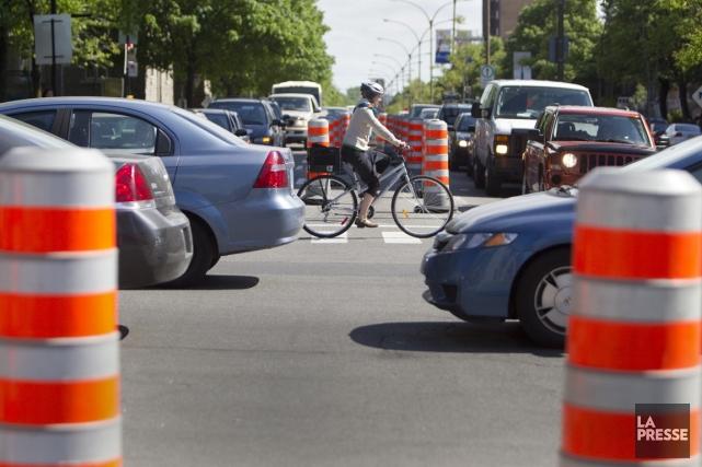 Les accidents causés par l'ouverture d'une porte de... (Photo Ivanoh Demers, archives La Presse)