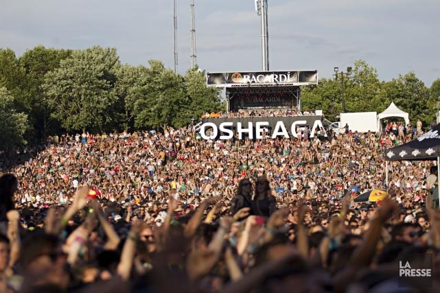 À sa neuvième année, Osheaga n'aurait probablement pas eu Outkast, sa tête... (Photo: Anne Gauthier, archives La Presse)
