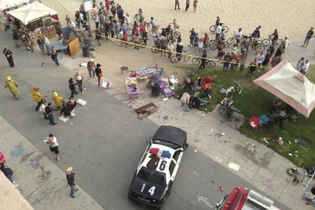 Le suspect s'est lui-même rapporté à la police... (Photo: Reuters)