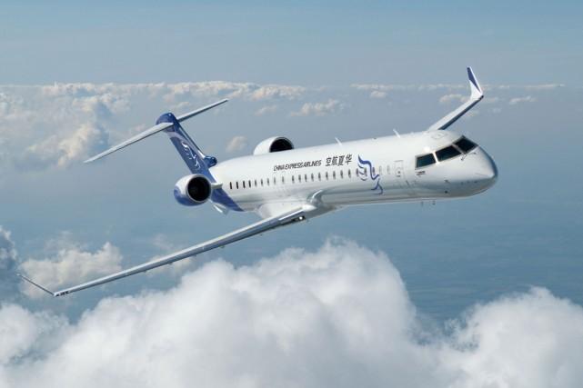 Un avion de la gamme CRJ900 NextGen de... (PHOTO LA PRESSE CANADIENNE)