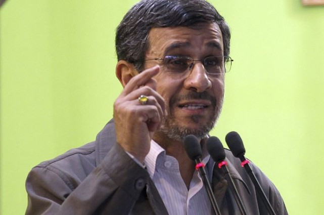 L'ex-président iranien Mahmoud Ahmadinejad... (Photo Atta Kenare, archives Agence France-Presse)