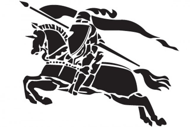 Le logo de la célèbre maison Burberry.... (Image fournie par Burberry)
