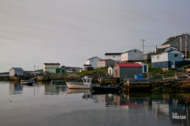 Le village de Harrington Harbour sur la Côte-Nord,... (Photothèque La Presse)