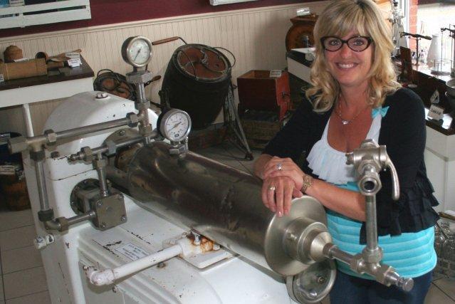 La conceptrice du nouveau Musée du lait de... (La Tribune, Maryse Carbonneau)