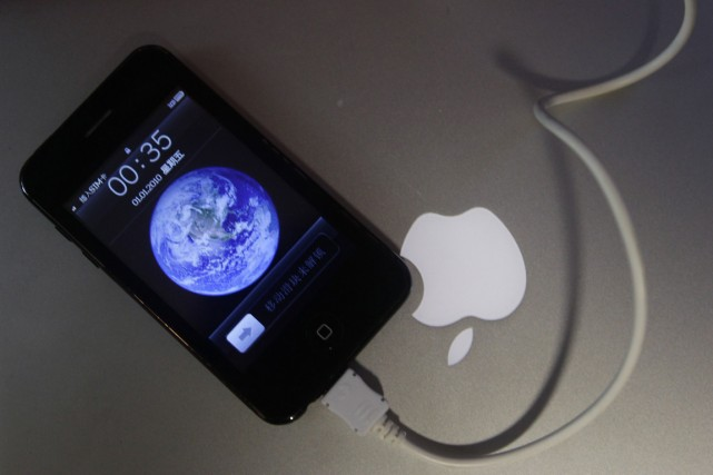 Le groupe rappelle que ses téléphones utilisent les... (PHOTO JASON LEE, REUTERS)