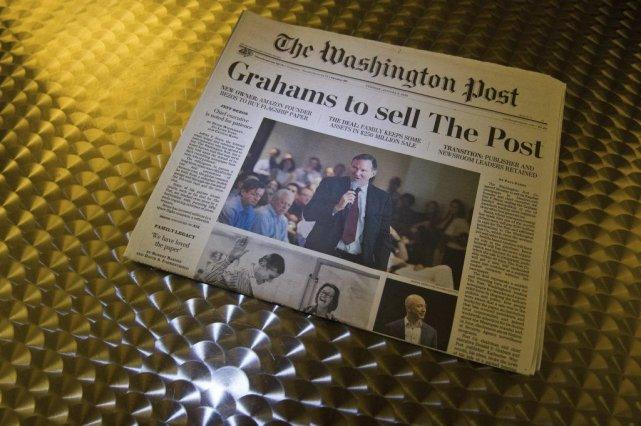 LeWashington Posta obtenu 47 prix Pulitzer depuis sa... (Photo Karen Bleier, Agence France-Presse)
