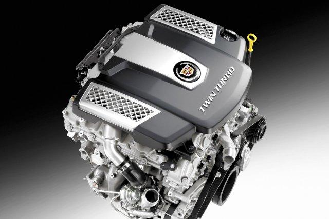 Le moteur V6 biturbo de 3,6 litres des... (Photo fournie par General Motors)