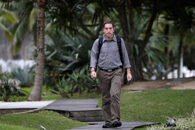 Greenwald avait expliqué le 10 juillet s'être fait... (Photo Sergio Moraes, Reuters)