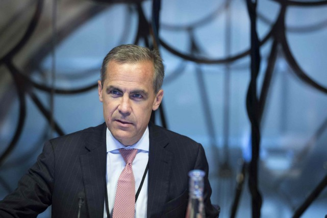 Le gouverneur de la Banque d'Angleterre, Mark Carney.... (PHOTO JASON ALDEN, REUTERS)