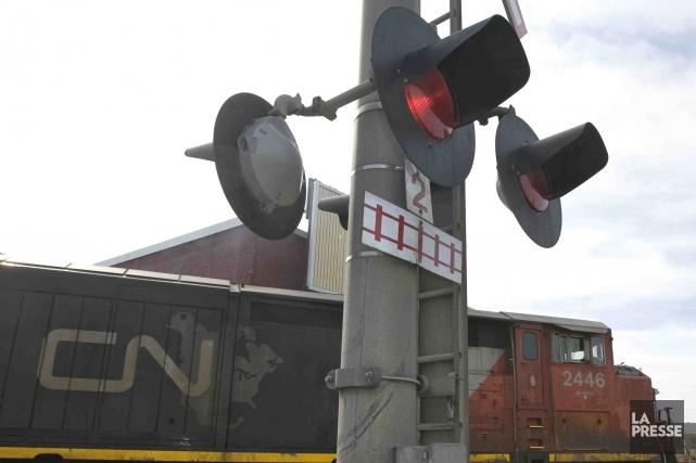 L'avenir du transport de passagers par Via Rail dans le nord-est du... (Photothèque La Presse)