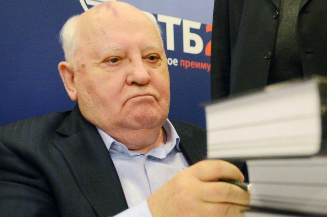Mikhaïl Gorbatchev en 2012.... (Photo AFP)