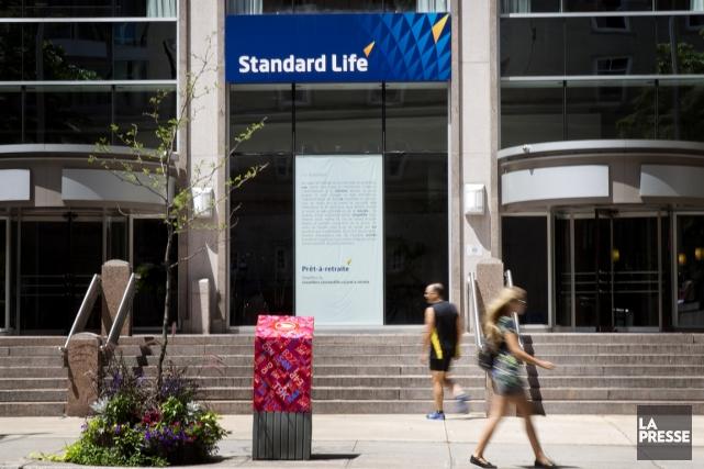 La Financière Standard Life a vu les primes et dépôts de sa filiale... (PHOTO MARCO CAMPANOZZI, ARCHIVES LA PRESSE)