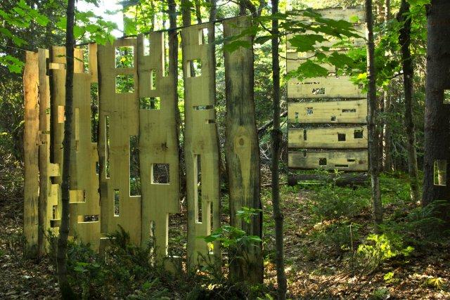 Cette année, pour la 19e édition du Symposium international d'art nature... (Photo: fournie par Les Jardins du précambrien)