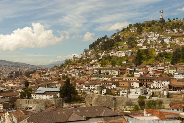 La capitale de l'Équateur,Quito.... (Photo d'archives)