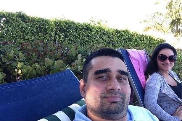 Derek Medina et sa femme, Jennifer Alfonso.... (Photo tirée de Facebook)