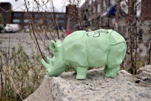 Les sculptures de Laurence Vallières sont faites en... (Photo Laurence Vallières)