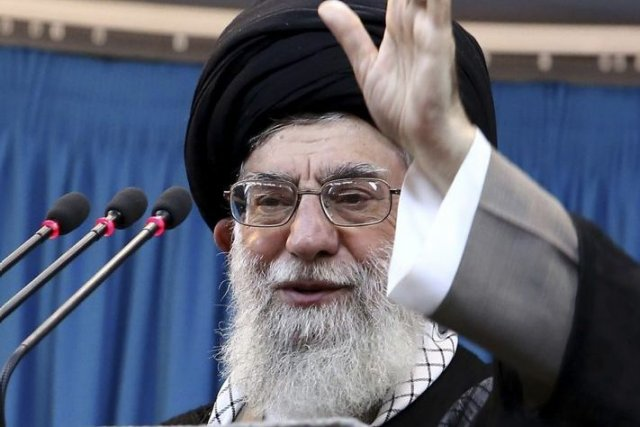Le guide suprême d'Iran, Ali Khamenei.... (Photo Associated Press)