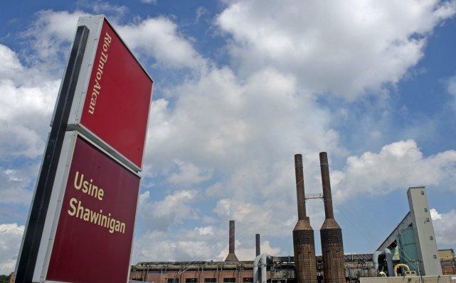La fermeture de l'aluminerie Rio Tinto Alcan à... (Photo: Stéphane Lessard)