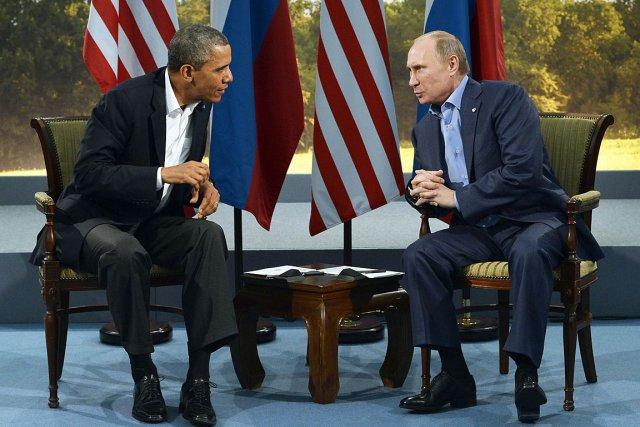 Le président américain Barack Obama et son homologue... (Photo Archives AFP)