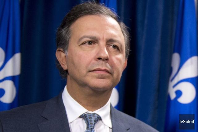 Le ministre du travail Sam Hamad aété à... (Photothèque Le Soleil)