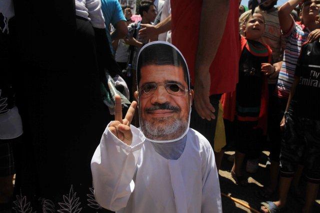 Place Rabaa, les plus jeunes comme les plus... (Photo AHMED MAHMOUD, AFP)