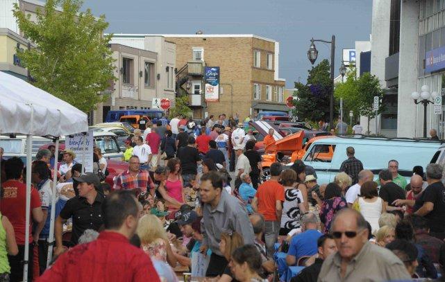 Selon les organisateurs, quelque 600 convives ont pris... ((Photo Gimmy Desbiens))