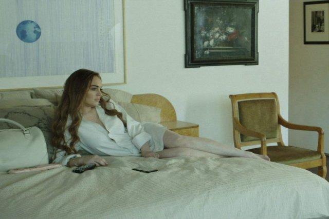 Lindsay Lohan dans une scène du film The... (PHOTO PC)
