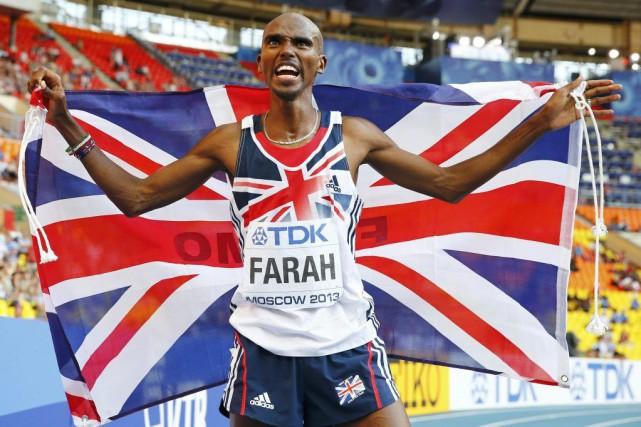 Mo Farah... (Photo Dominic Ebenbichler, archives Reuters)