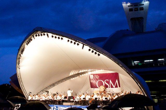 Le 14 août, à 19h30, l'OSM sera de retour sur l'esplanade Financière Sun Life... (PHOTO FOURNIE PAR L'OSM)