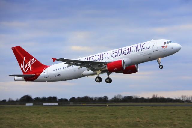 La compagnie aérienne britannique Virgin Atlantic a annoncé mercredi éviter le... (Photo: fournie par Virgin)