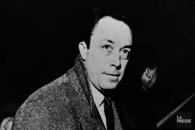 L'écrivain Albert Camus peu de temps avant son... (Photo: archives La Presse)