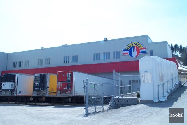 L'usine Olymel de Vallée-Jonction... (Photothèque Le Soleil)