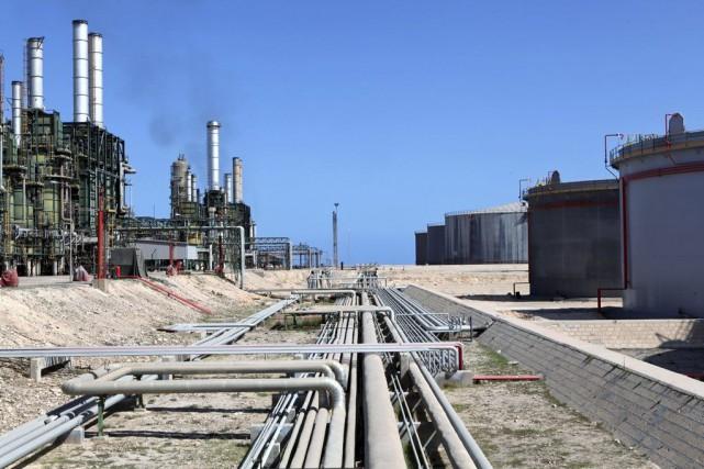 Des islamistes radicaux se sont emparés mardi de deux champs pétroliers situés... (Photo Shawn Baldwin, Bloomberg)