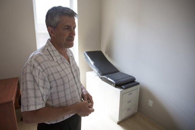 «Actuellement, la quasi-totalité de nos clients qui souffrent... (Photo: Olivier Pontbriand, La Presse)