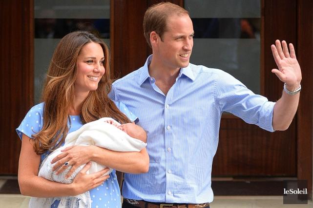 Dans l'ordre de succession actuel au trône britannique,... (Photothèque Le Soleil)