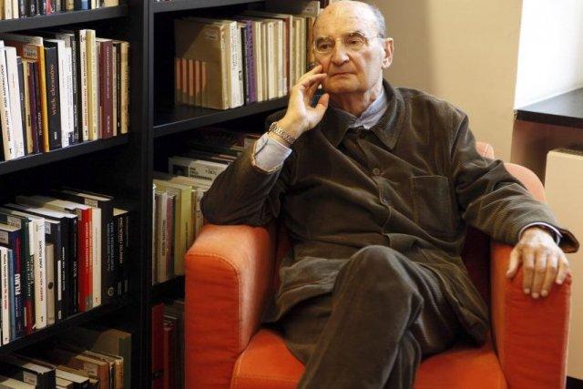 Slawomir Mrozek en septembre 2010.... (Photo: archives AFP)