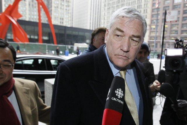 Conrad Black doit au gouvernement canadien l'impôt sur 5,1 millions de dollars... (Photo Charles Rex Arbogast, AP)