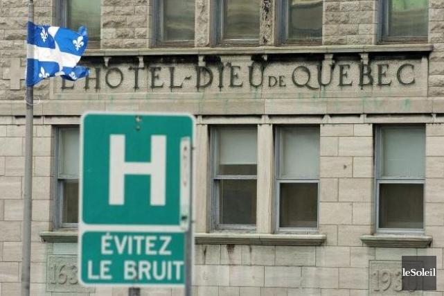 Le chu contre un nouvel h pital sainte foy annie for Porte 60 hotel dieu sherbrooke