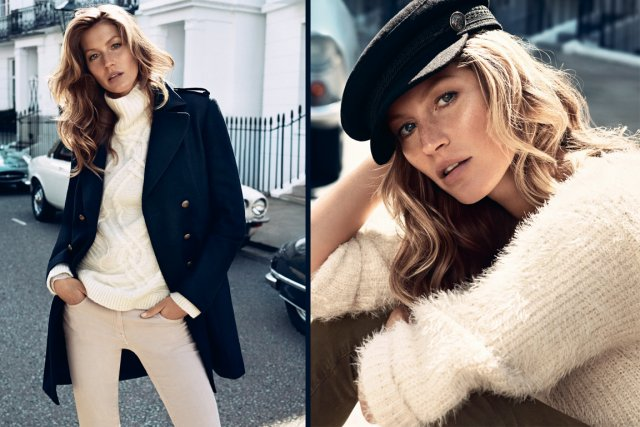 Gisele Bündchen pour H&M automne 2013... (Photo fournie par H&M)