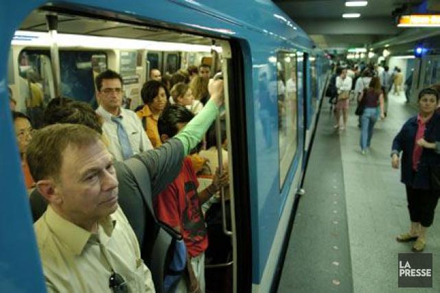 Le métro de Montréal a vécu sa première... (Photo Alain Roberge, Archives La Presse)