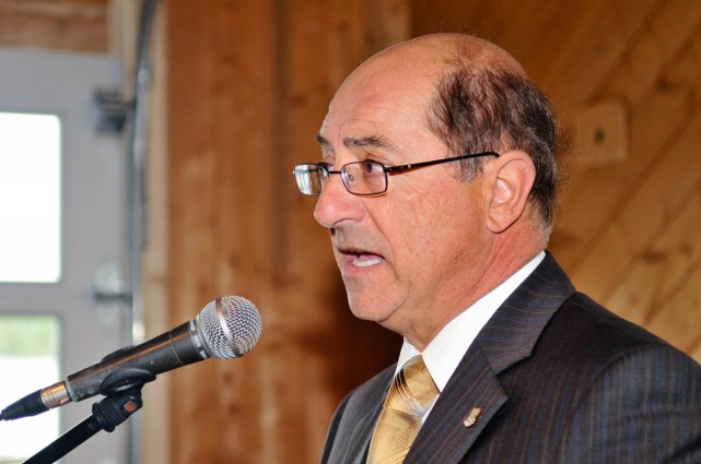 Le maire de la municipalité de Grandes-Piles, Jean-Pierre... (PHOTO: ÉMILIE O'CONNOR)