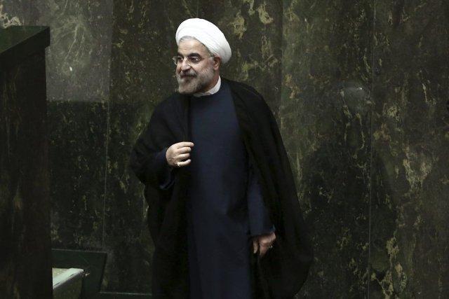 Le président Rohani a affirmé la semaine dernière... (PHOTO BEHROUZ MEHRI, AFP)