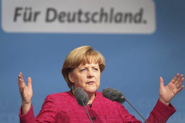 À moins d'un revirement, la chancelière allemande, Angela... (PHOTO DANIEL ROLAND, AFP)