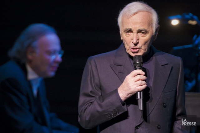 Charles Aznavour.... (PHOTO ANDRÉ PICHETTE, ARCHIVES LA PRESSE)