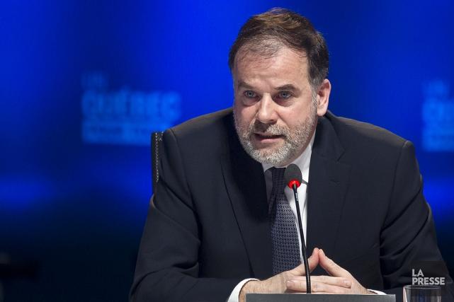 Pierre Duchesne, ministre de l'Enseignement supérieur, de la... (Photo Olivier PontBriand, archives La Presse)