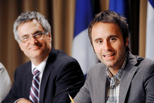 En juin 2011, le ministre libéral de la... (Photothèque Le Soleil, Patrice Laroche)