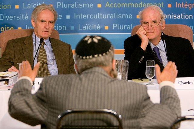En 2007, le sociologue Gérard Bouchard et le... (Photothèque Le Soleil)
