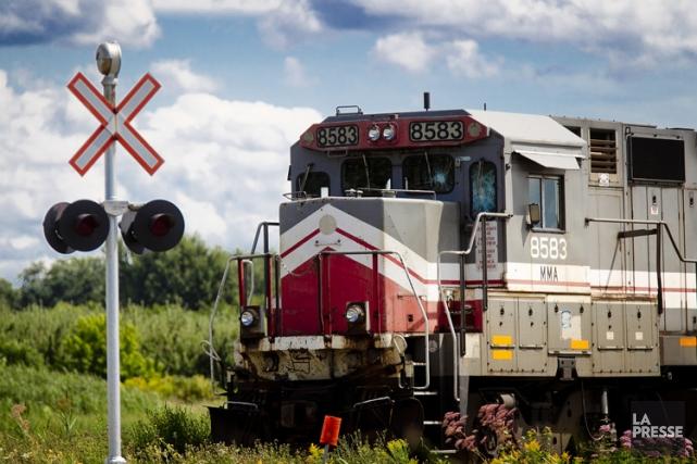 La vente de l'entreprise ferroviaire du Maine responsable du déraillement... (Photo: Marco Campanozzi, Archives La Presse)