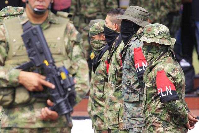 La rébellion de l'ELN compte encore selon les... (PHOTO JAIME SALDARRIAGA, ARCHIVES REUTERS)