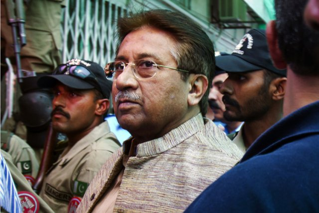 Pervez Musharraf... (Archives AP)